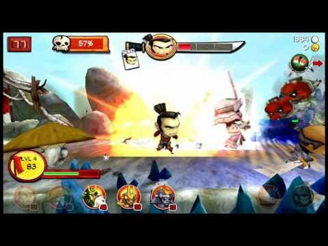 Android Samurai vs Zombies