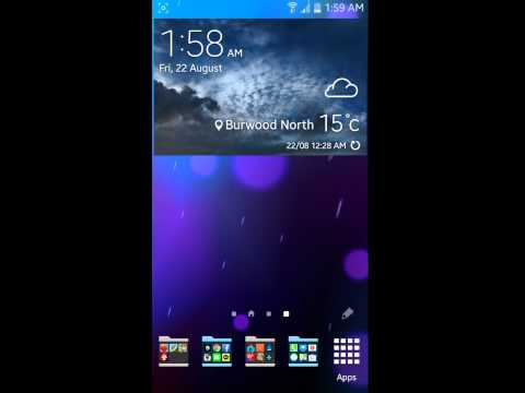 How to customize Apps/widgets on Samsung Galaxy S5