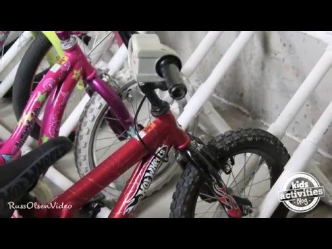 DIY Bike Rack - Made from PVC Pipes