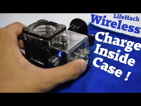 🔌  Make wireless charger for GoPro Action Camera