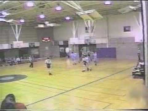 kid getting hit with a basketball