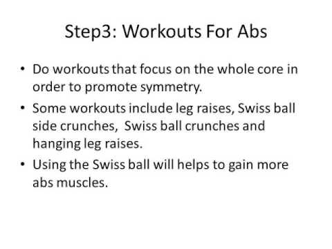Get your Six Packs in a Month- Simple ways to gain