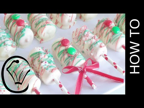 Christmas Marshmallow Pops by Cupcake Savvy's Kitchen