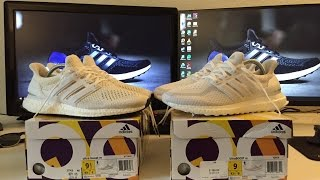 64bba69b6af ... Adidas Triple White 2.0 vs Original White 1.0 Ultra Boost  Comparison Review