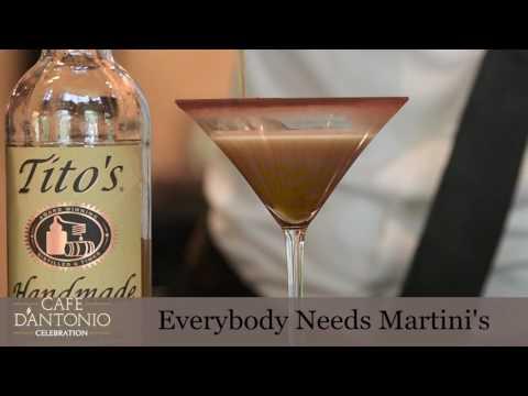 Cafe D`Antonio It's National Martini Week