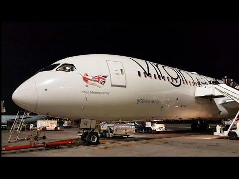 TRIP REPORT   Virgin Atlantic (PREMIUM ECONOMY)   London Heathrow - Johannesburg   Boeing 787-9