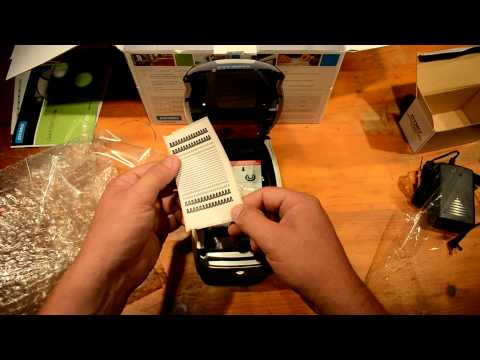 Dymo 450 Turbo Unboxing and Demo with USPS 99019 Shipping Labels