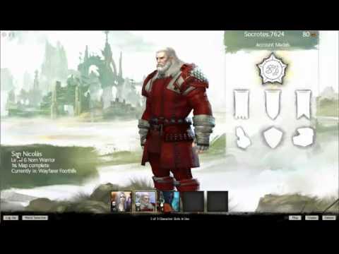 Guild War 2 Santa