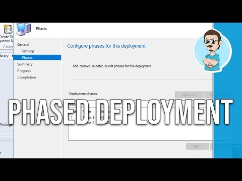 SCCM 1802 | Configure Phased Deployments!