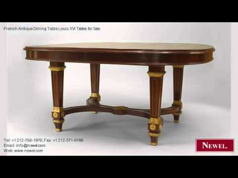 French Antique Dining Table Louis XVI Tables for Sale