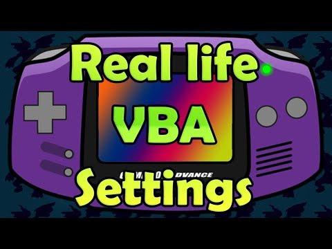 Best Quality VisualBoyAdvance Emulator Settings For PC