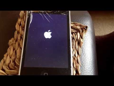 iPhone 3gs apple boot logo on/off cycle. Buttons don't work while plugged in.