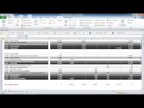 SAP BPC 10 0 HANA, Starter Kit for IFRS - 4 - Cash Flow