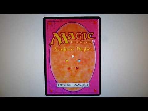History of MTG - Magic Card Back