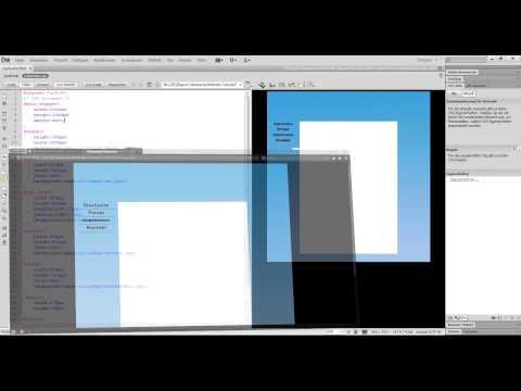 HTML Tutorial - Mouseover Button klickbar machen #4