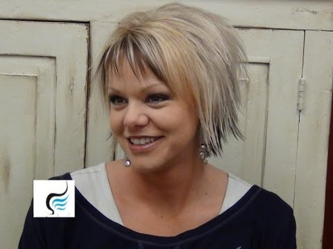 (Short Hairstyles) With Slight Flip Hair