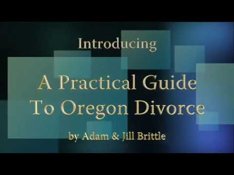 A Practical Guide to Oregon Divorce