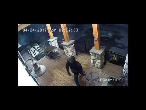 Nanaimo - Smash and grab suspect caught on video