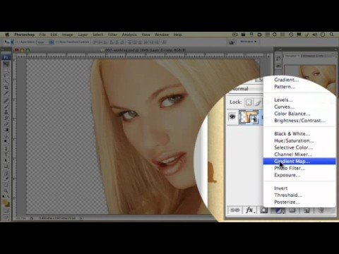 Photoshop Tutorial 007: How to create gold skin - Part 1
