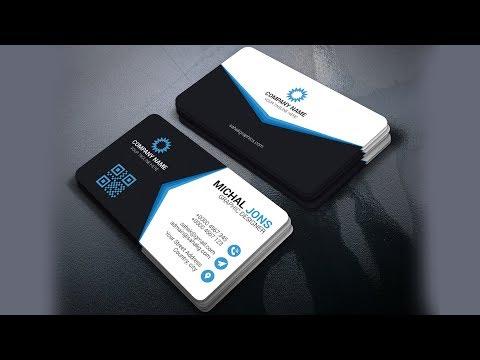 Photoshop Tutorial   Business Card Design   Corporate