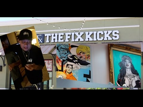 HE FINALLY WANTED MCDONALDS/FIXKICKS GRAND OPENING