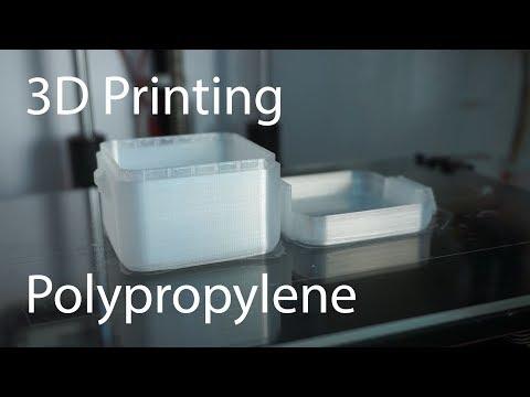 3D printing with Verbatim Polypropylene (PP)