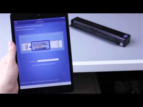 ScanSnap iX100 - How to Scan Wirelessly to Mobile Device