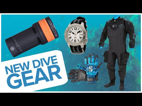 New Dive Gear For May 2018