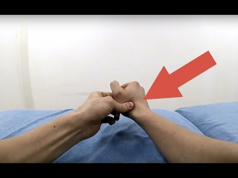 How to crack your thumb joint!