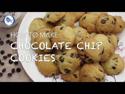 How to make Chocolate Chip Cookies recipe | Home Bird