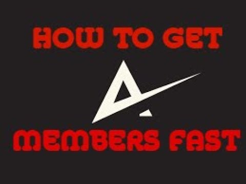 HOW TO GET DISCORD MEMBERS FAST!