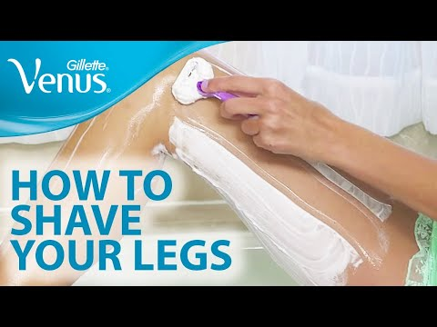 How to Shave Your Legs With Gillette Venus | Shaving Tips
