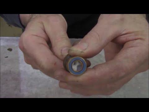 Ceramic cartridge faucet stems should be replaced, can't repair or fix