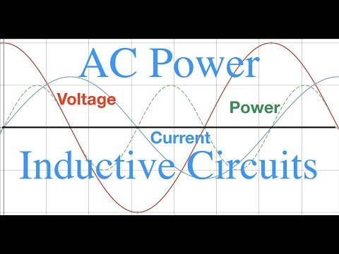 RLC Circuits (3 of 6) Power in Inductive Circuits