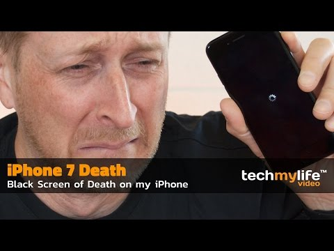 How to fix iPhone 7 BLACK SCREEN OF DEATH