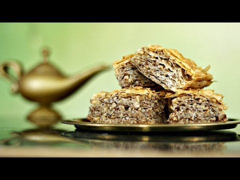 BAKLAVA RECIPE inspired by Aladdin | FICTION FOOD FRIDAY