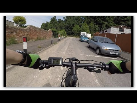 48V 1000W rear wheel kit from Panda UK - Test Ride