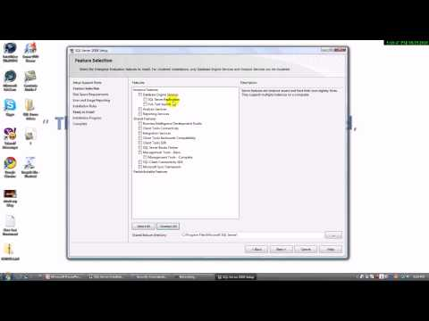 Installing and Configuring SQL Server 2008