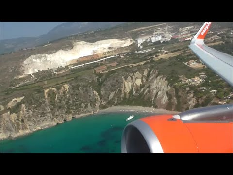 EasyJet Airbus A320-214   Kefalonia to London Gatwick *Full Flight*