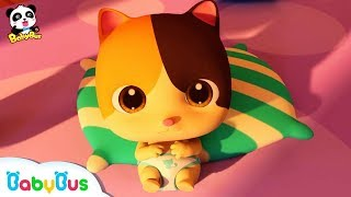 Don't Cry, Baby Kitten   Cute Pet Kitten Care   Christmas Song   BabyBus Cartoon
