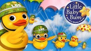 Six Little Ducks | From Five Little Ducks | Part 2 | Nursery Rhymes | By LittleBabyBum!