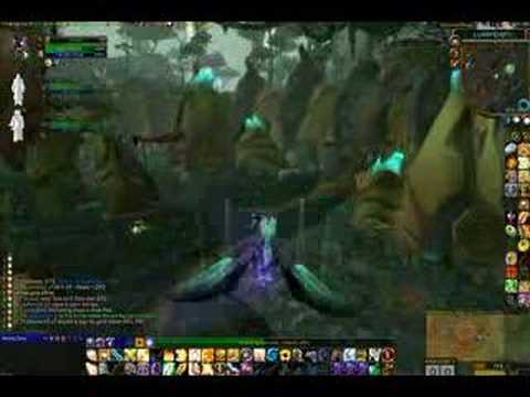Flying upside down in World of Warcraft