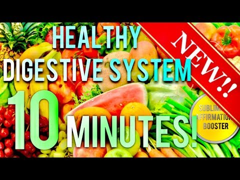 🎧 GET A HEALTHY DIGESTIVE SYSTEM IN 10 MINUTES! SUBLIMINAL AFFIRMATIONS BOOSTER! REAL RESULTS DAILY!