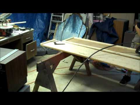 Type 40 Tardis Bedroom Doors Construction Time-Lapse Part 1