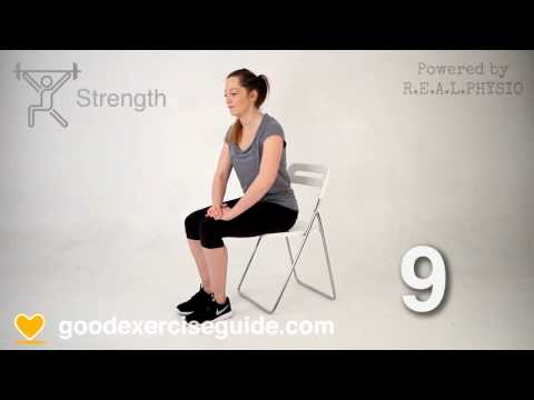 5 Great Physio Exercises for Bakers Cyst Problems