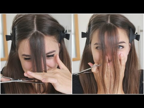 Cutting My Bangs | OMG