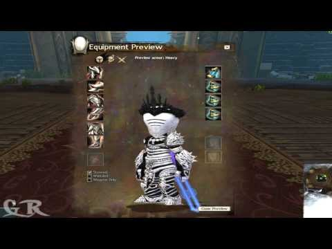 Guild Wars 2 Heavy Ascended Armor's All Races Preview