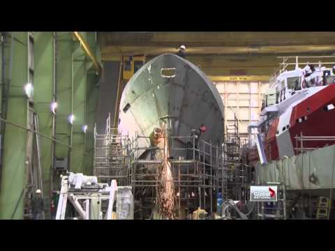 Halifax shipbuilding contract