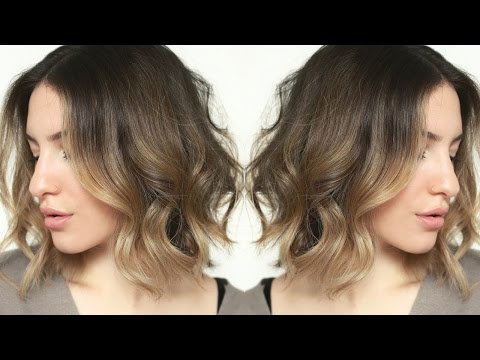 Messy + Effortless Waves | Short Hair Tutorial | JamiePaigeBeauty