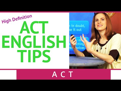 ACT English Tips and Strategies - Brightstorm ACT Prep